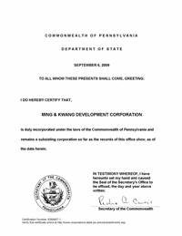 copy of articles of incorporation connecticut